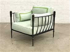 A Michael Taylor Montecito club armchair