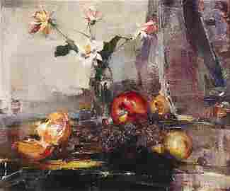 Nicolai Fechin, oil, Still Life, 1925