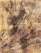 Jean Dubuffet Le sol allegre 1958 lithograph