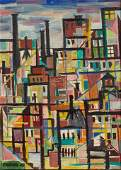 American School, abstract urban landscape