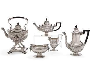 Tiffany & Co silver five piece tea and coffee set