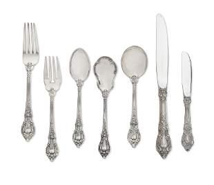 A Lunt silver Eloquence flatware set, 78 pcs