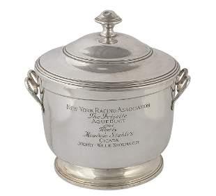 Fisher silver trophy: Willie Shoemaker & Cicada