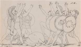 John Flaxman, Tragedies of AEschylus