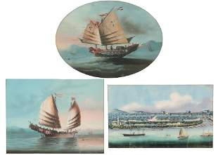 Anglo Chinese School, three maritime works