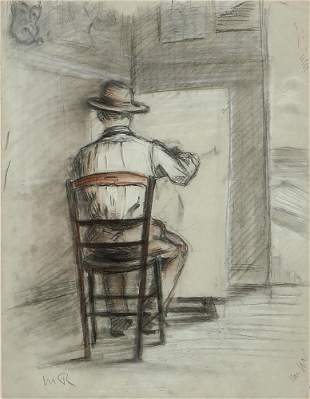 Manuel Robbe, L artiste au Chevalet
