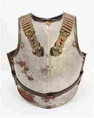 A French Cuirassiers breast and back plate armor