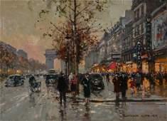Edouard Leon Cortes, Champs-Elysees