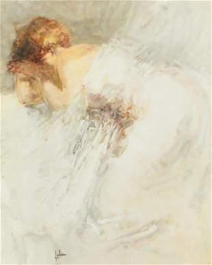 Louis Fabien (French, b. 1924), oil on canvas