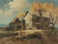 Ralph Love (American, 1907-1992), Rancho de Taos