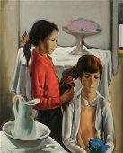 Jesus Mecko Casaus, Pienandose, oil on canvas
