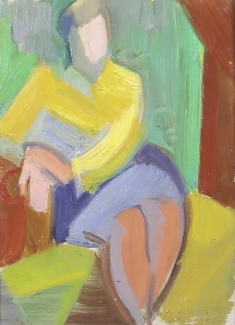 Nicholas Poliakoff (Ukranian), Abstract nude