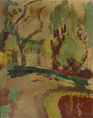 Povl Schroder (Danish, 1894-1957), o/c
