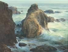 Ralph Love (1907-1992), oil on artist board