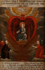 Spanish Colonial School, Christ in the Sacred Heart