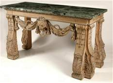 A William Kent style painted side table