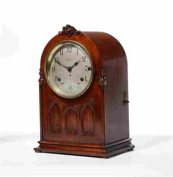 American Gothic Revival clock, Seth Thomas
