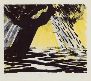 Peter Alexander, Dorado, 1983, color lithograph
