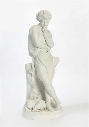 Niderviller porcelain group, after Charles Lemire