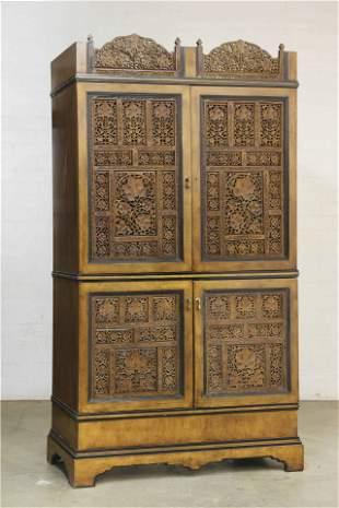 A Las Palmas Design 'Calcutta' grille armoire