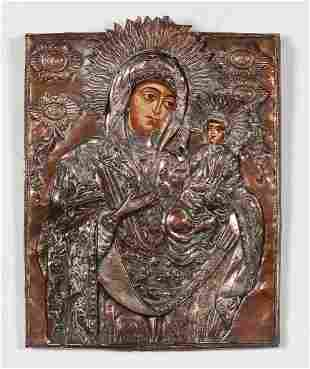 An Eastern Orthodox icon, late 19th century