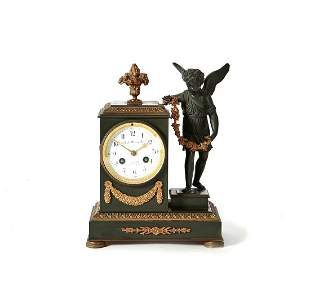 A French mantel clock, by Black, Starr & Frost