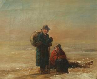 John Joseph Barker of Bath, oil on canvas