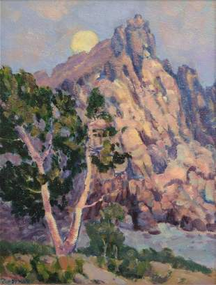 Ridolfo Rivademar, (California) painting