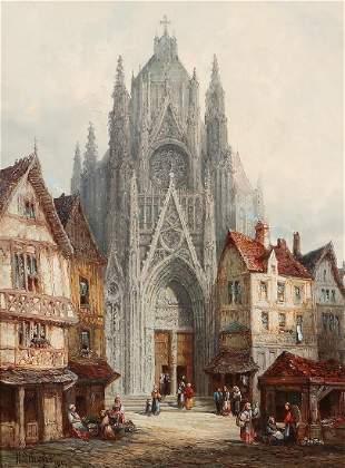 Henri Schafer, Eglise Saint-Gervais Normandy