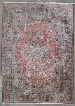 A silk rug