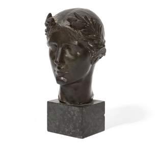 Albert Henry Atkins, bronze, Victory
