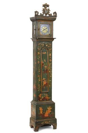 Italian Rococo tall case clock, Vendramin