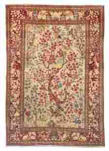 Kashan Tree of Life rug