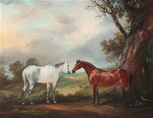John Ferneley, oil, Melton Mowbray, horse