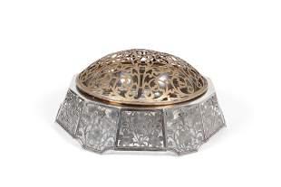 Meriden Britannia sterling silver center bowl