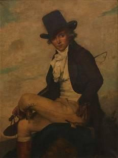 After Jean Louis David, Portrait of Pierre Seriziat