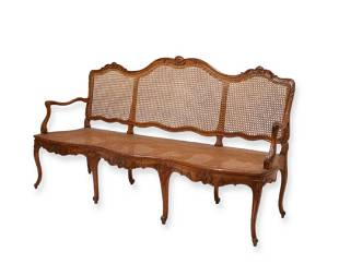 A Louis XV Provincial settee