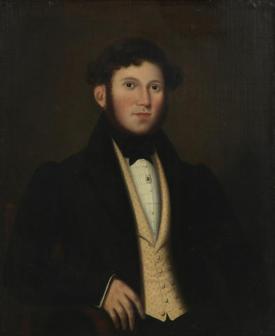 Continental School, Portrait of a gentleman