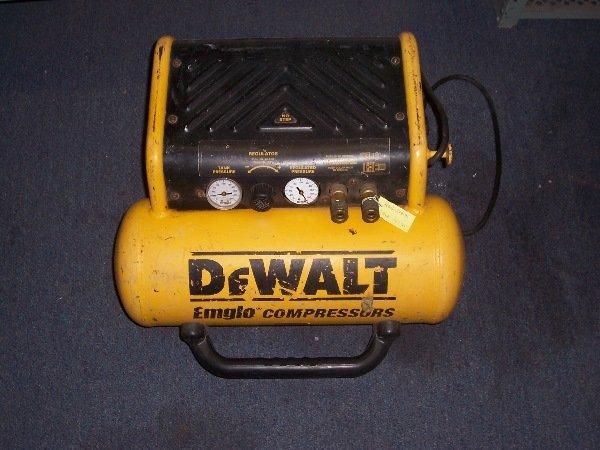 1686: dewalt emglo compressor
