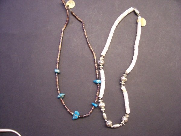 405: two native necklaces