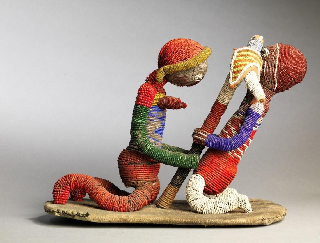 Yoruba Babalawo Talisman Tribal Art