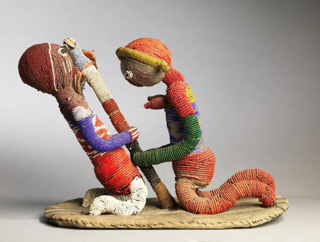 Yoruba Babalawo Talisman Tribal Art - 2