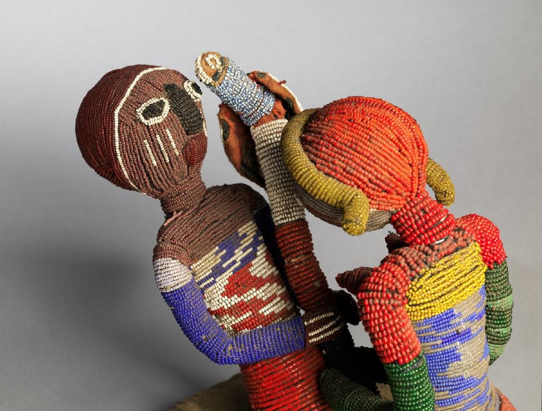 Yoruba Babalawo Talisman Tribal Art - 3