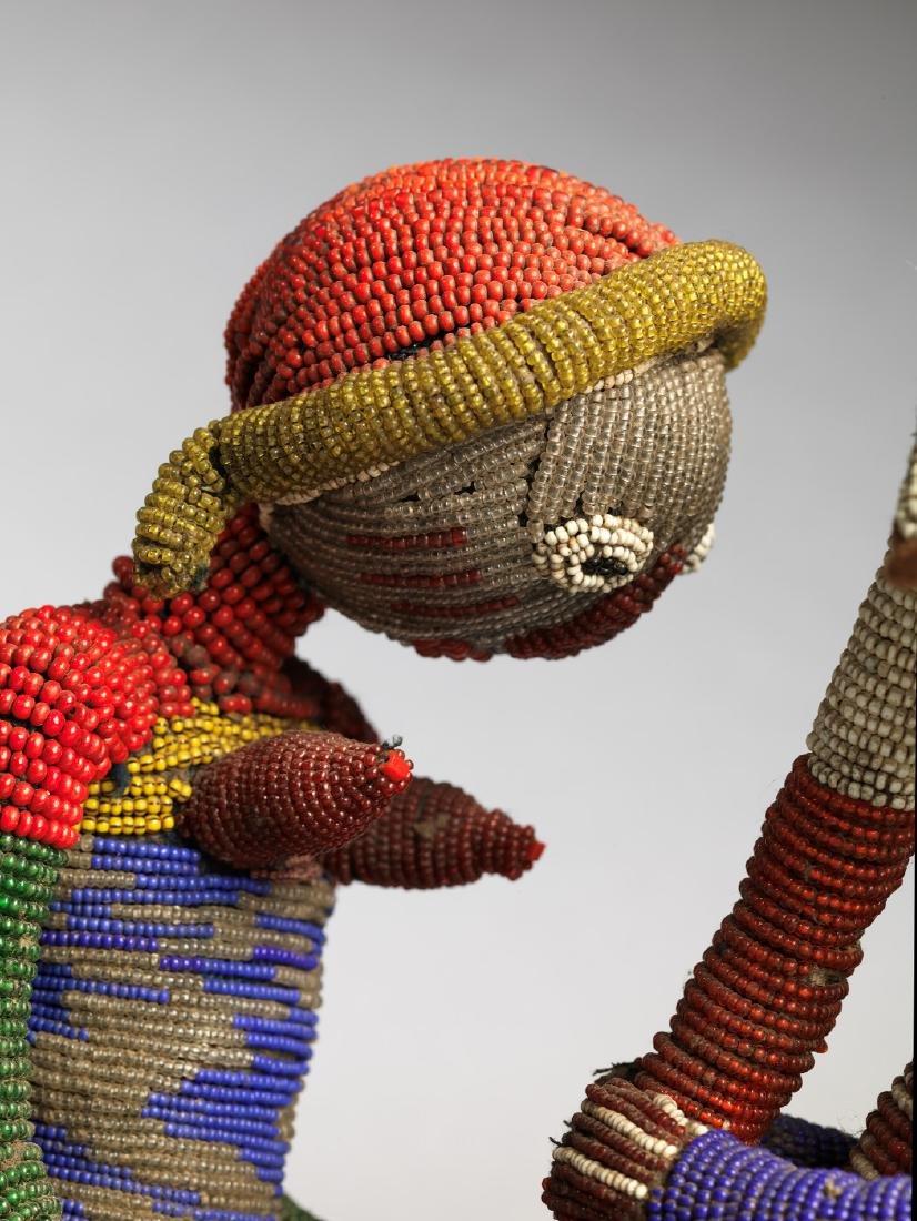 Yoruba Babalawo Talisman Tribal Art - 4
