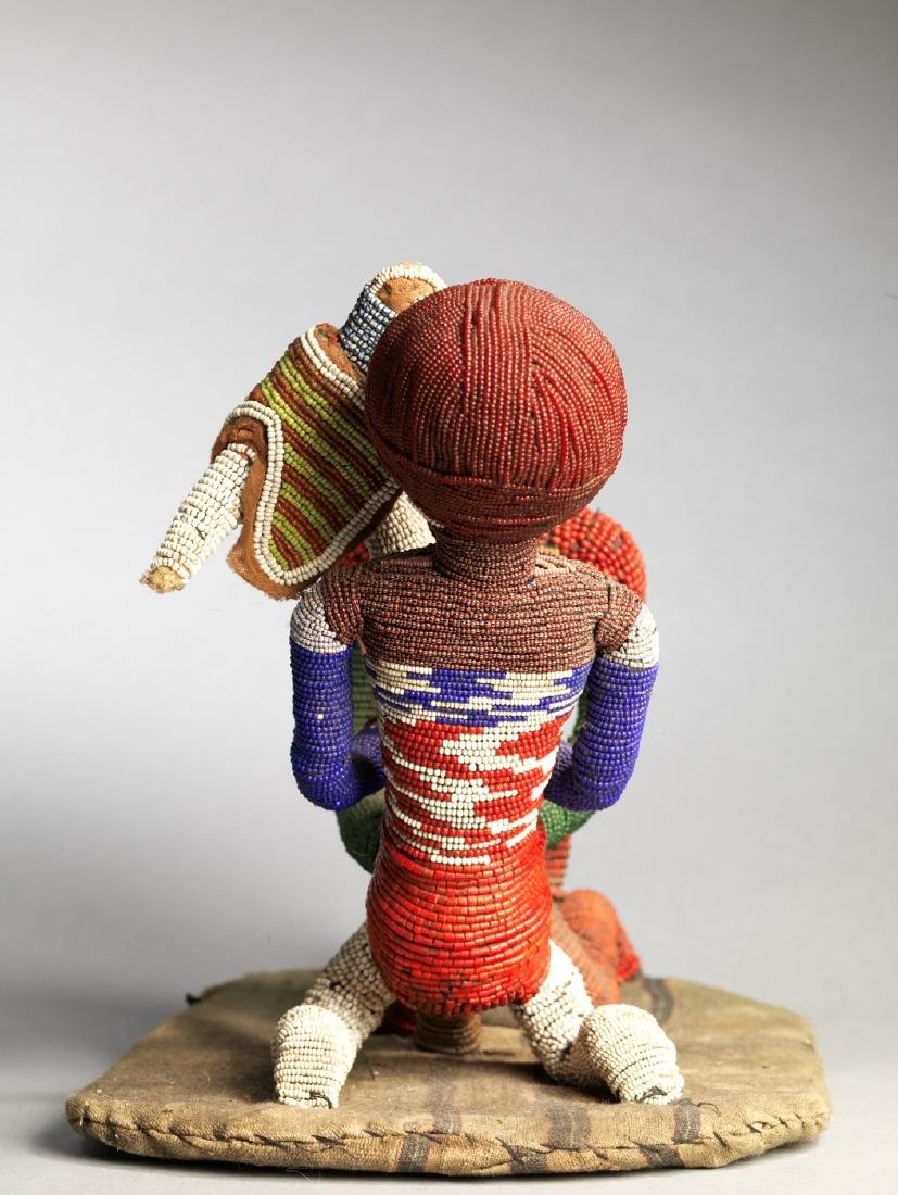 Yoruba Babalawo Talisman Tribal Art - 5