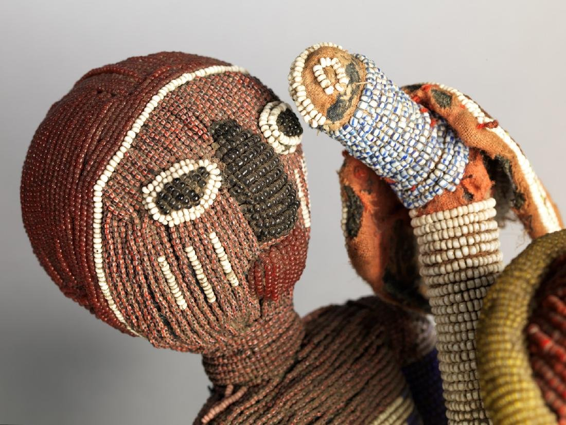 Yoruba Babalawo Talisman Tribal Art - 6