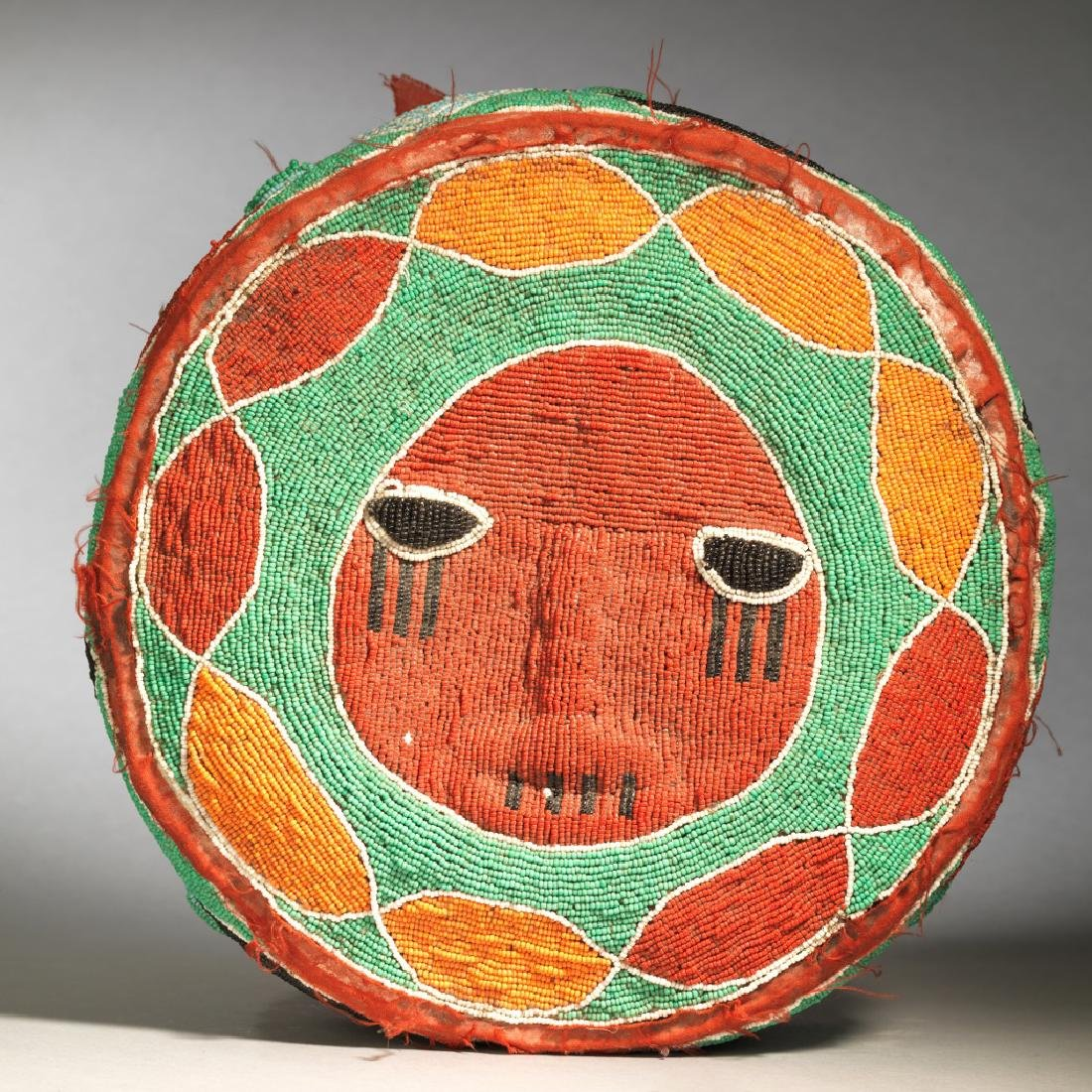 Yoruba Royal Foot Cushion Tribal Art