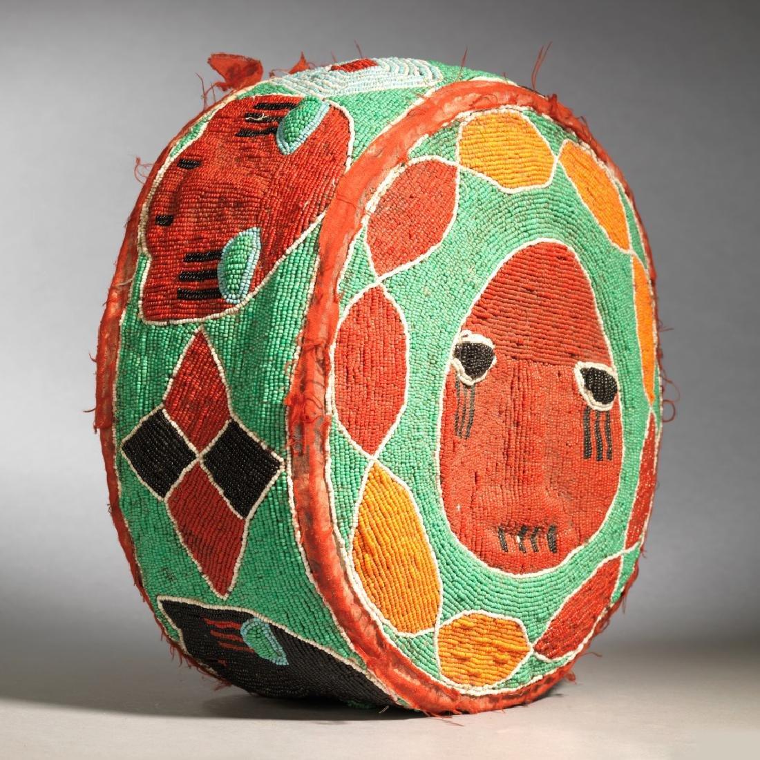 Yoruba Royal Foot Cushion Tribal Art - 6