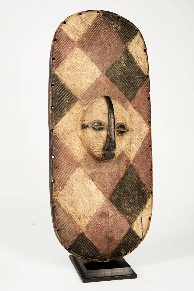 Luba Style Shield Tribal Art