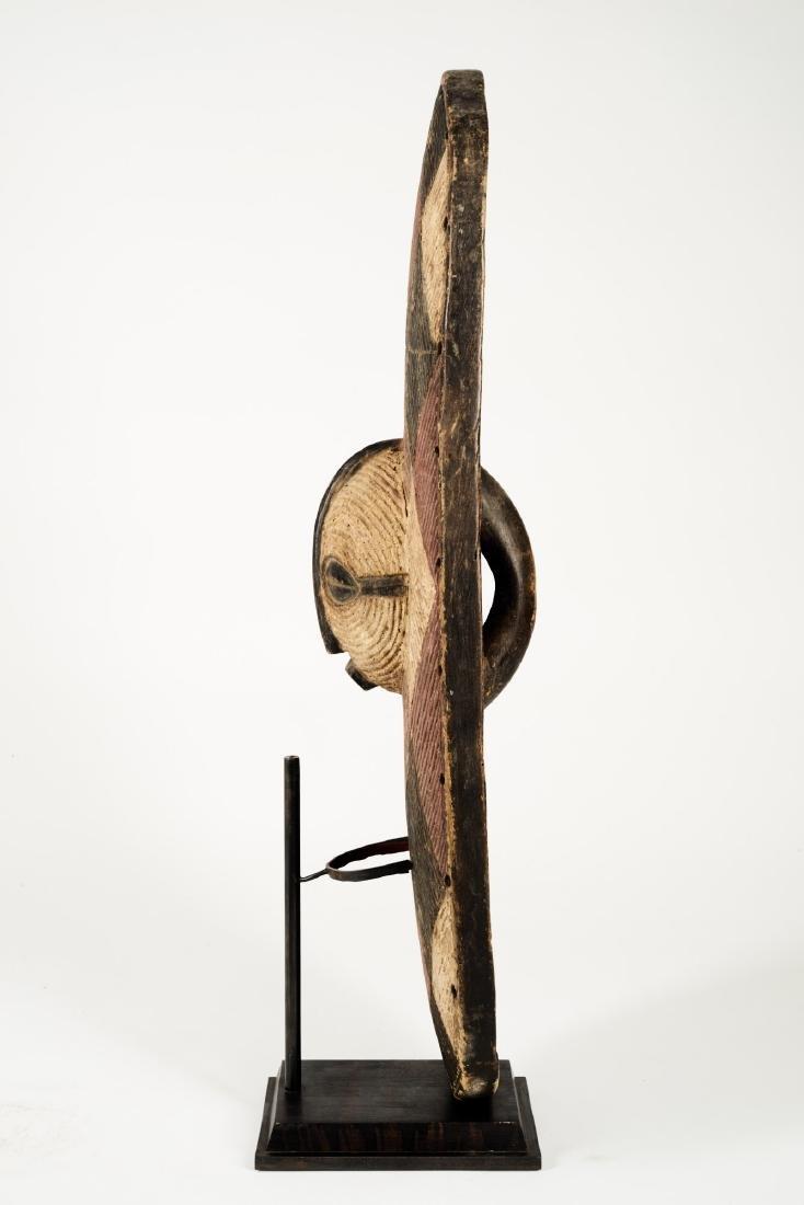 Luba Style Shield Tribal Art - 3